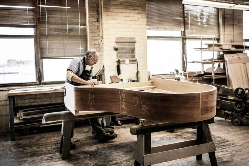 Home-Craftsmanship of a Steinway Photo 2