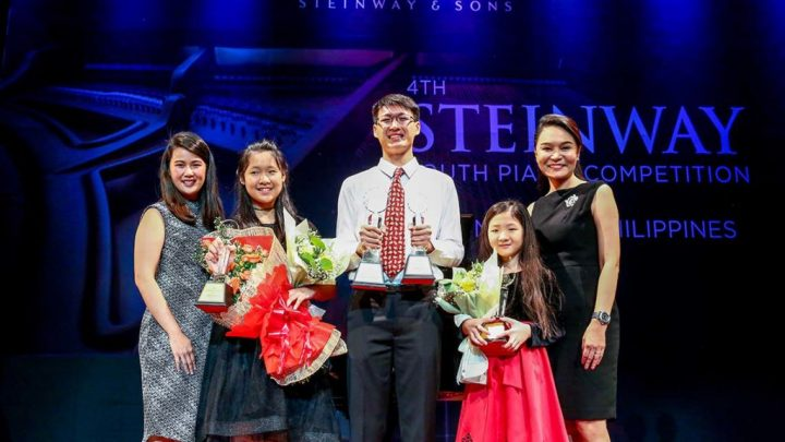 Sixteen Year Old Pianist Wins the 4th Philippine Steinway Youth Piano Competition 2018