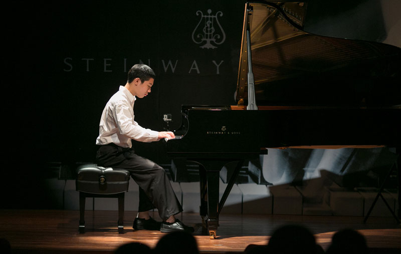 Nathan John Torento to represent the Philippines in the 2nd Steinway Regional Finals Asia Pacific 2014