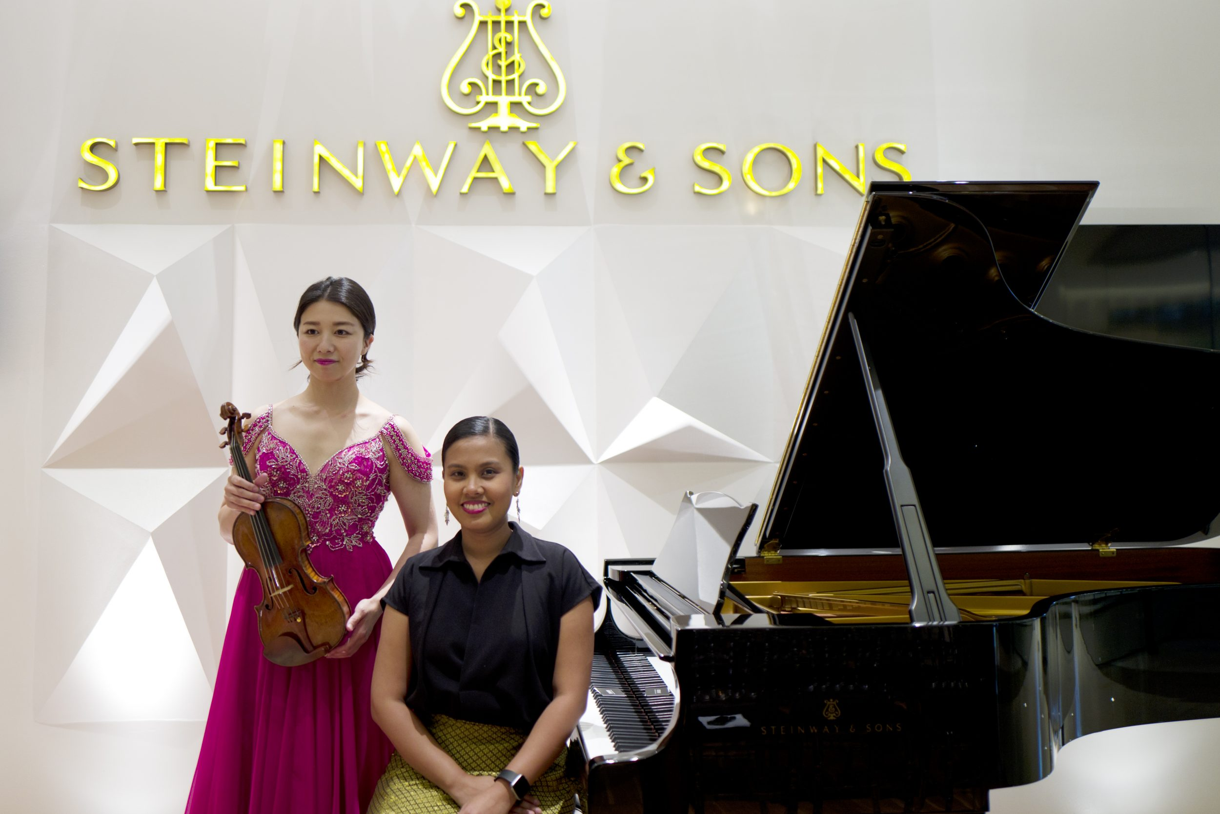 Steinway Boutique Manila Presents Japanese Violinist Lina Matsuda