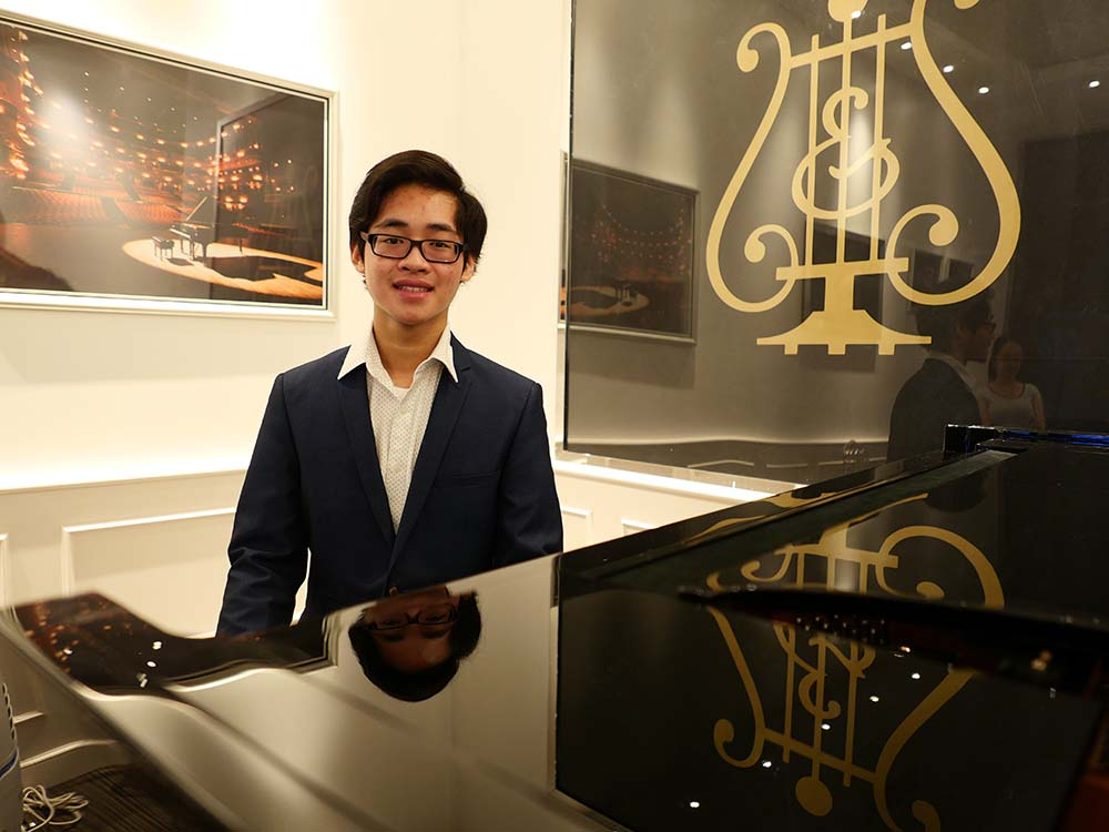 Steinway Youth Piano Competition Winners: Hansel Ang